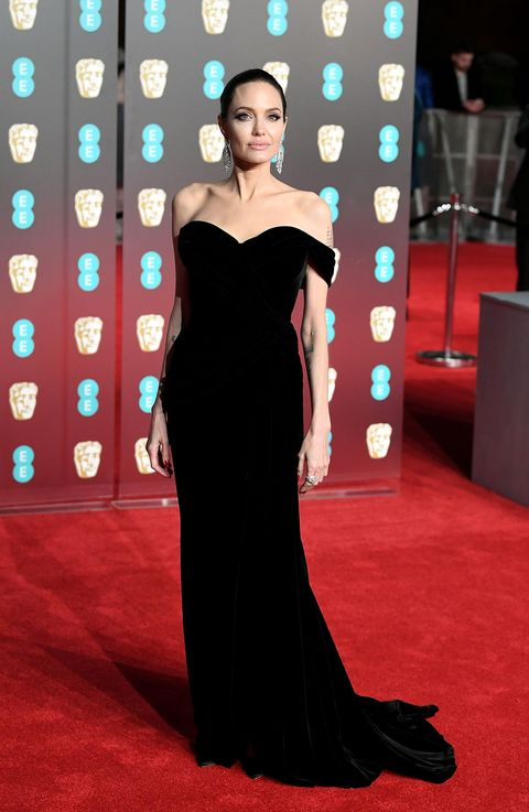 Angleina Jolie Bafta red carpet 2018 - Ralph & Russo couture