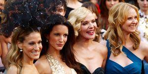 Sarah Jessica Parker, Kristen Davis, Kim Cattrall, Cynthia Nixon, Sex and the City, SATC