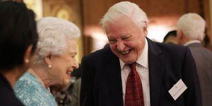 Queen Elizabeth II and David Attenborough