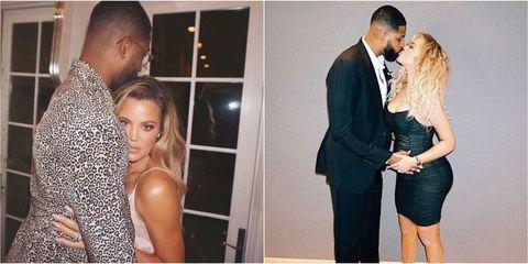 Kardashian and Thompson