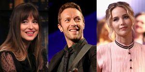 Jennifer Lawrence, Chris Martin and Dakota Johnson | ELLE UK