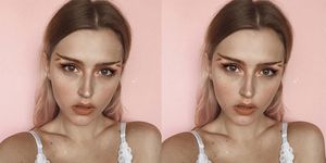 Fishtail Brow Trend
