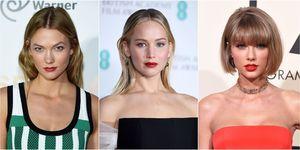 Karlie Kloss, Jennifer Lawrence, Taylor Swift