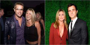 Brad Pitt, Jennifer Aniston, Justin Theroux