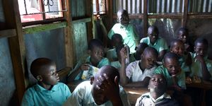 Boys Learn About Periods In Kibera, A Slum In Nairobi Kenya | ELLE UK
