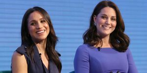 Meghan Markle and Kate Middleton blue dresses