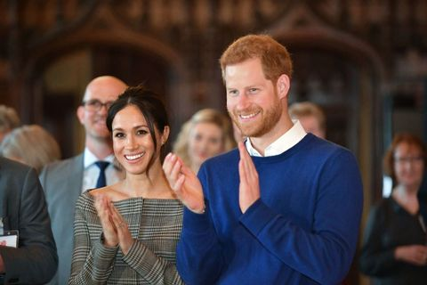 Meghan Markle and Prince Harry International Women's Day