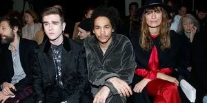 Celebrities On The Front Row At Paris Fashion Week AW18