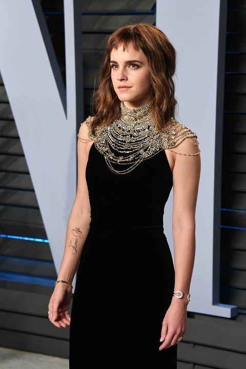 Emma Watson Time's Up Tattoo