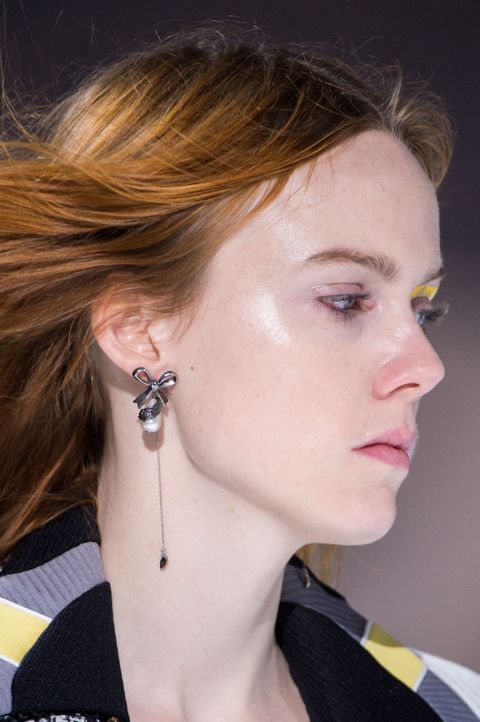 Best earrings Paris Fashion Week AW18 Louis Vuitton