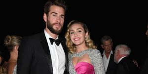 Miley Cyrus and Liam Hemsworth Elton John Oscars 2018 after party