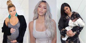 Khloe Kardashian, Kim Kardashian West, Kylie Jenner