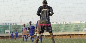 Girls play football in Gambia | ELLE UK