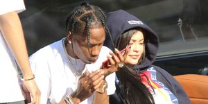 Travis Scott and Kylie Jenner in Miami