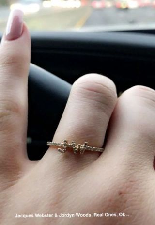 Kylie jenner sparks rumours of engagement with diamond ring on kylie jenner sparks rumours of engagement with diamond ring on wedding finger junglespirit Images