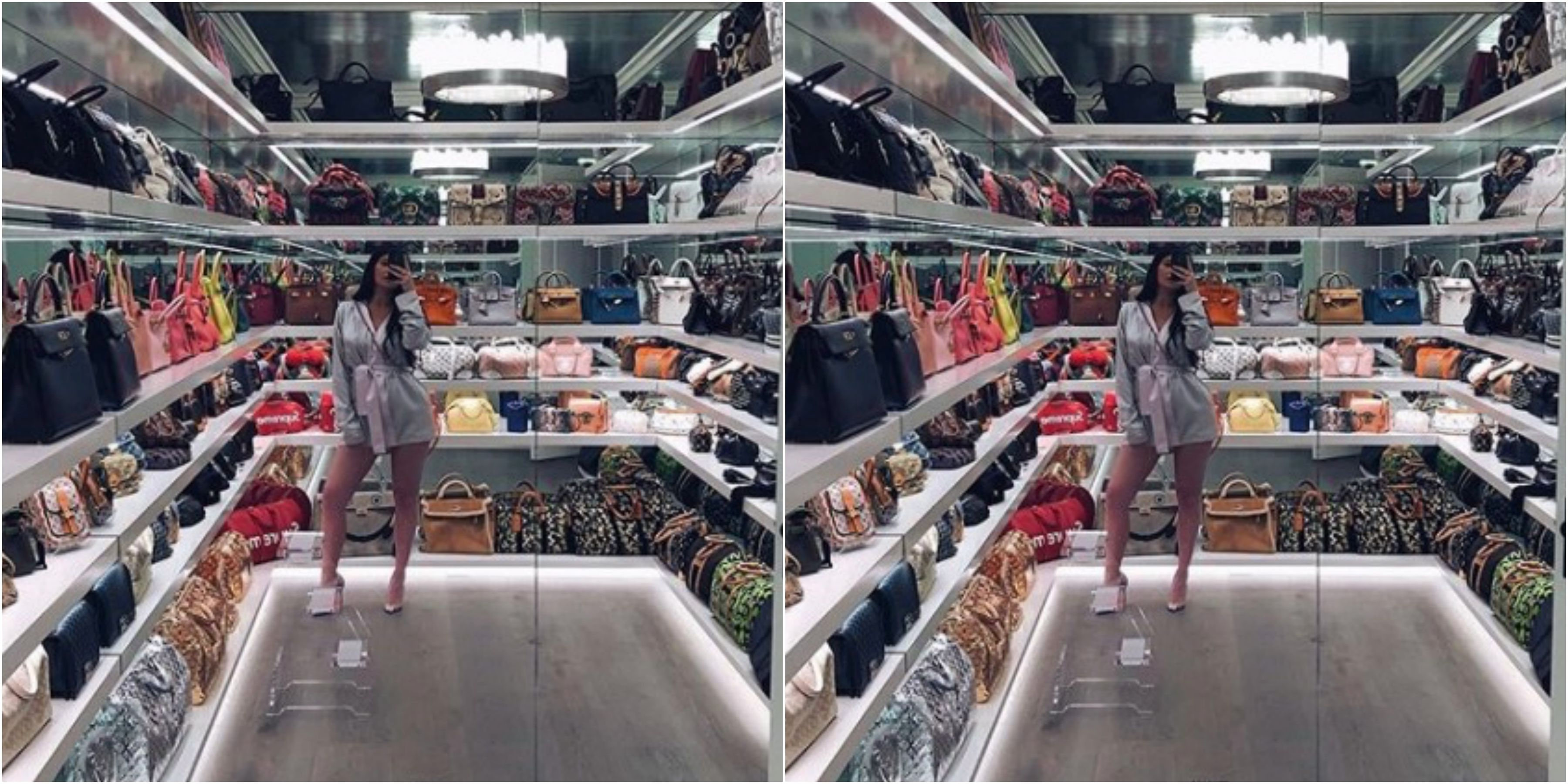 95a26d40296 How Much Are All Of Those Handbags Worth In Kylie Jenner s Closet