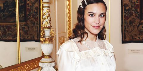 ae4483ddc7bb Alexa Chung Reveals Everyone In School Copied What She Wore ...