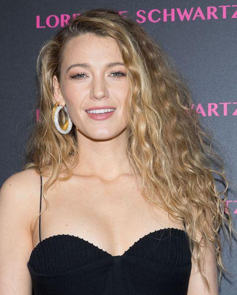 Blake Lively Curly Hair