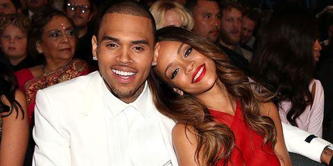 Chris Brown and Rihanna | ELLE UK
