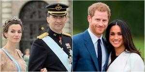 queen Letizia and meghan markle | ELLE UK