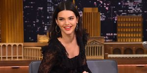 Kendall Jenner laughing