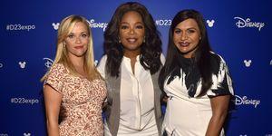 Reese Witherspoon, Oprah Winfrey, Mindy Kaling