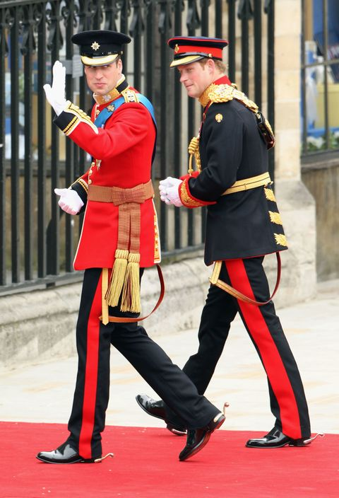 Prince William And Harry At S Wedding 2017