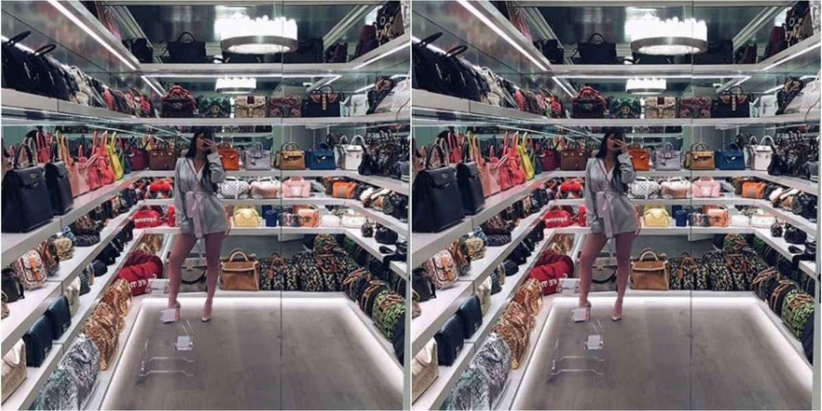 How Much Are All Of Those Handbags Worth In Kylie Jenner's