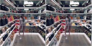 Kylie Jenner's bag closet