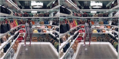 74e5ae74 How Much Are All Of Those Handbags Worth In Kylie Jenner's Closet?