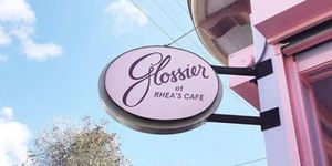 Glossier Cafe