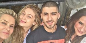 Gigi Hadid and Zayn Malik | ELLE UK