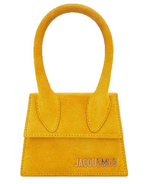 le Sac Chiquito Jacquemus yellow bag