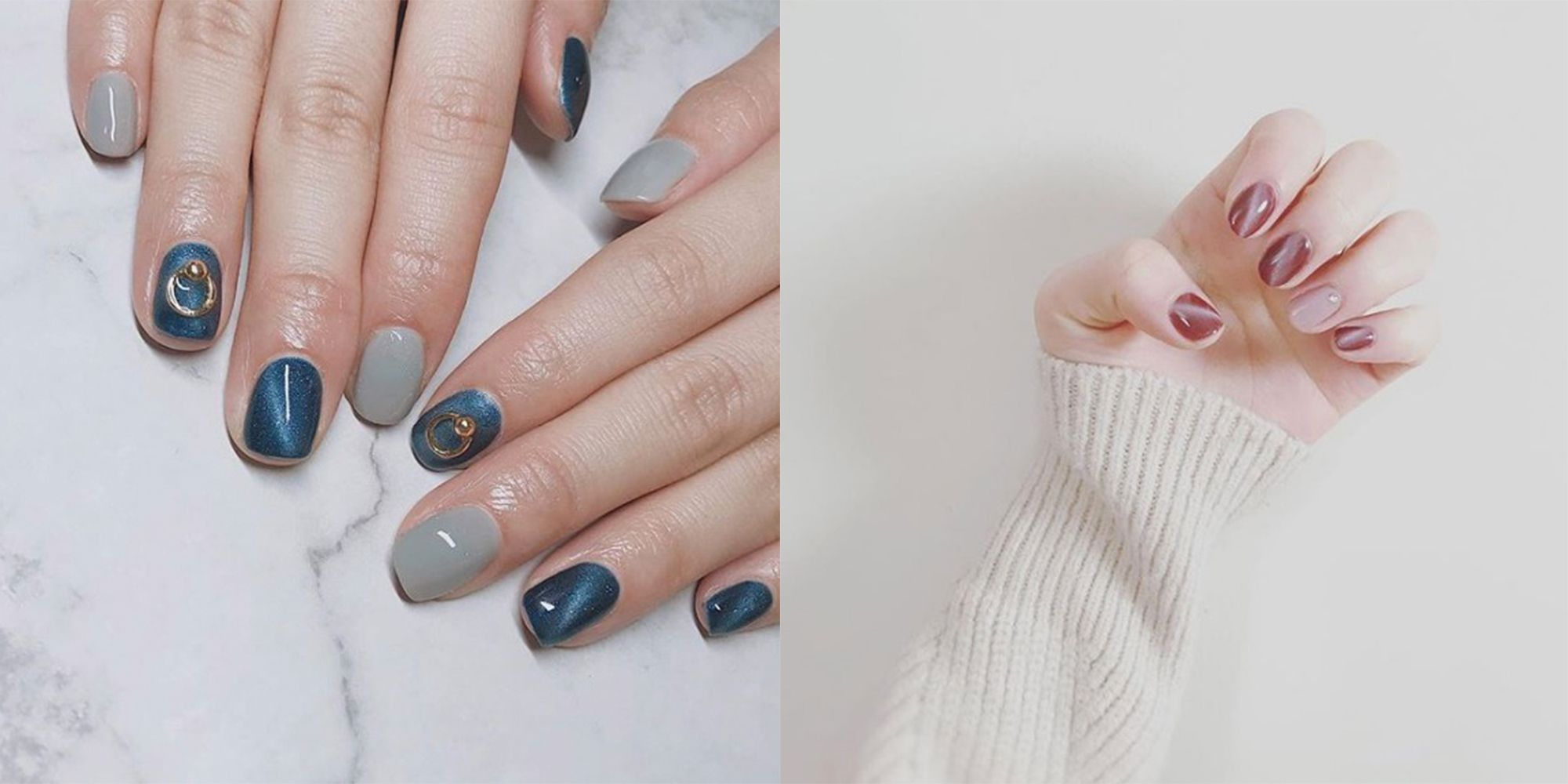 The Cat Eye Manicure Is The New Pinterest-Worthy Nail Trend Set To ...