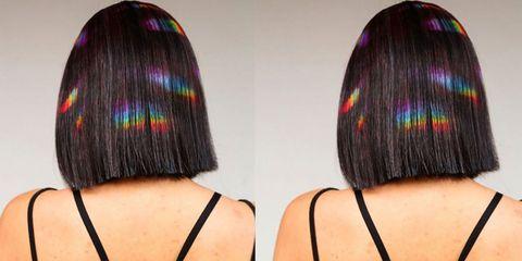 Baby Rainbow Hair Trend