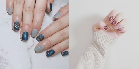 The Cat Eye Manicure Is New Pinterest Worthy Nail Trend Set To Take Over Your Feed