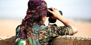 YPJ fighter | ELLE UK