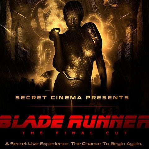 BladeRunner, Secret Cinema, London