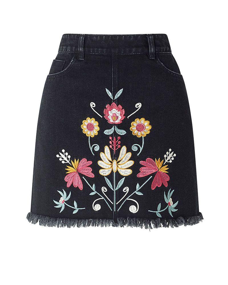best embroidered denim 2018