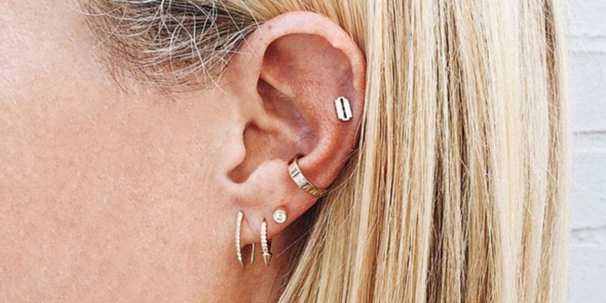 Beroemd Dit is de plek waar alle celebs hun oor laten piercen #HM13