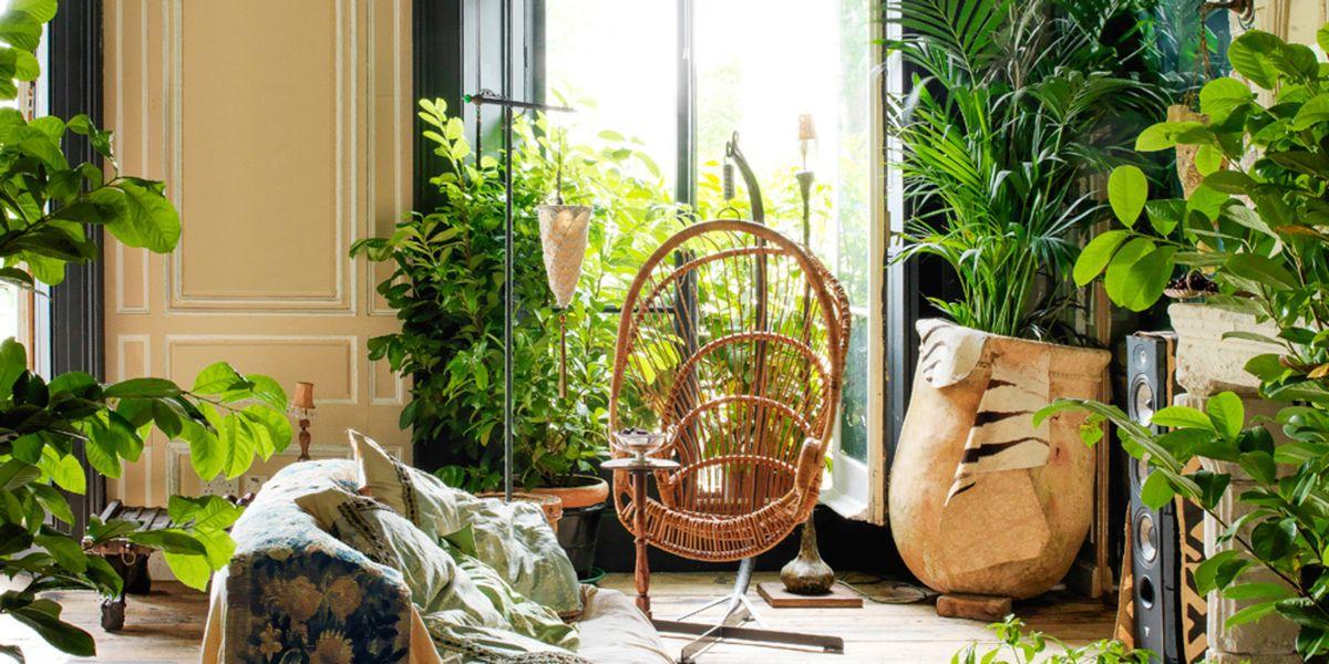 Mode meets interieur en een groentje: dat is de nieuwe ELLE Decoration