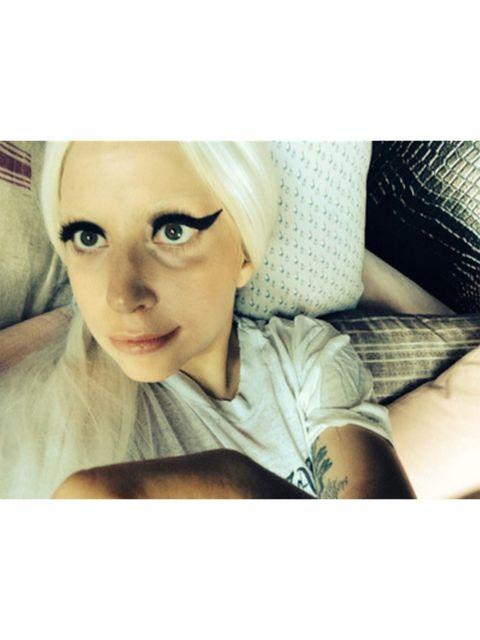 Lip, Skin, Eyebrow, Eyelash, Selfie, Photography, Blond, Portrait photography, Eye liner, Portrait,
