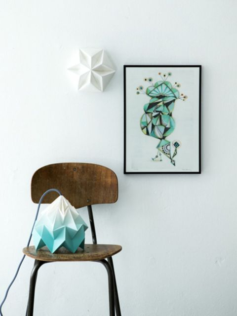 Teal, Chair, Paint, Art, Turquoise, Picture frame, Creative arts, Visual arts, Paper, Art paint,