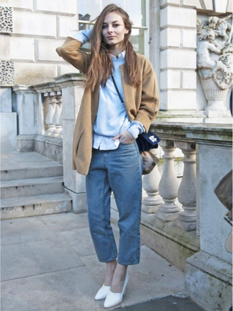 Clothing, Sleeve, Trousers, Human body, Denim, Shoulder, Textile, Collar, Outerwear, Style,