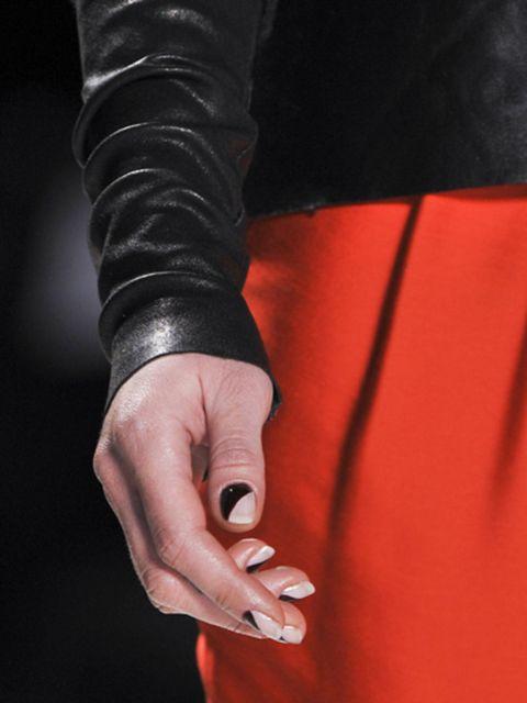 Finger, Joint, Wrist, Nail, Carmine, Thumb, Cuff, Gesture, Leather, Flesh,