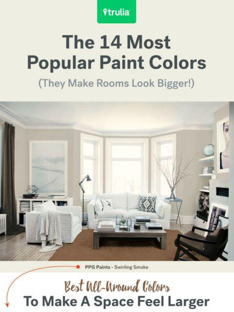 12 verfkleuren die een kleine kamer groter laten lijken