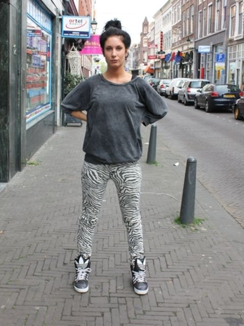 Road, Sleeve, Street, Infrastructure, Photograph, Town, Neighbourhood, Standing, Style, Street fashion,