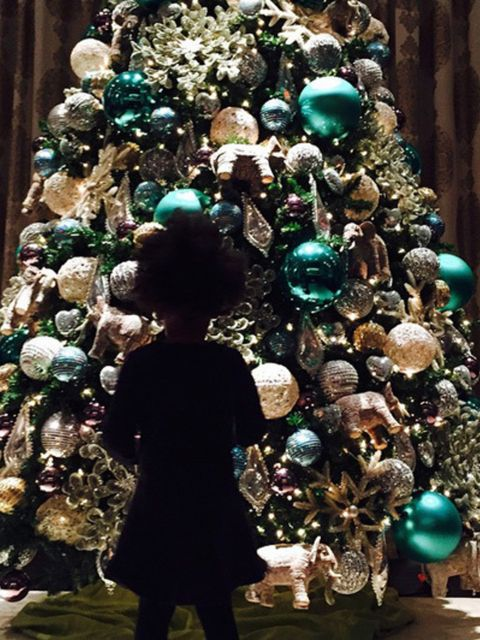 Event, Christmas decoration, Christmas ornament, Christmas tree, Holiday ornament, Holiday, Turquoise, Teal, Interior design, Christmas,
