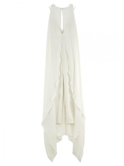 Product, Sleeve, Textile, White, Clothes hanger, Grey, Beige, Day dress, One-piece garment, Embellishment,
