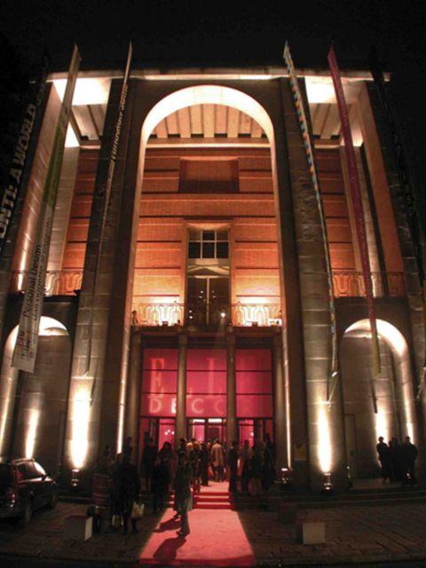Night, Facade, Metropolitan area, Darkness, Midnight, Arch, Door, Column, Arcade,